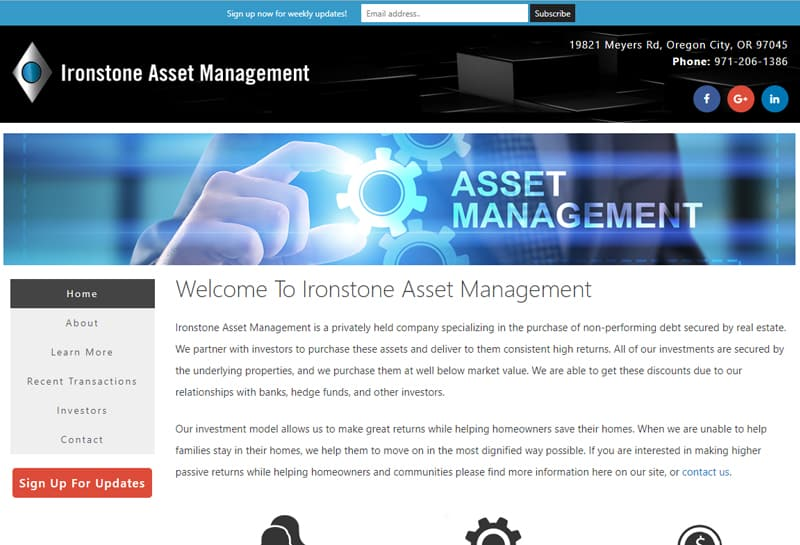 Ironstone Asset Management