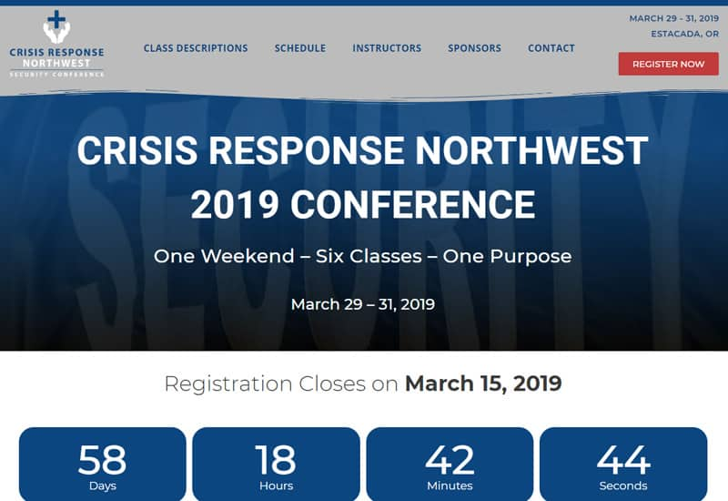 Crisis Response Northwest Conference
