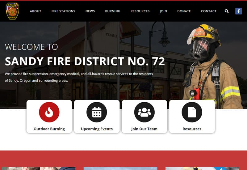 Sandy Fire District No. 72
