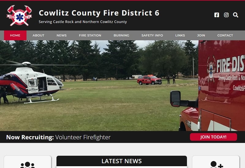Cowlitz County Fire District 6
